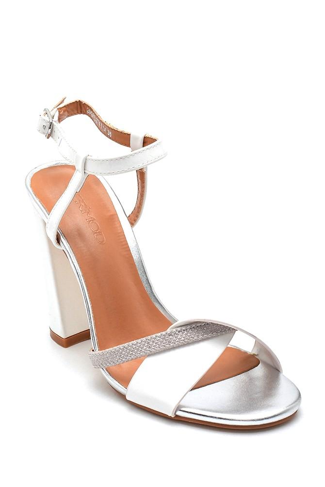 5638133040 Kadın Casual Topuklu Sandalet
