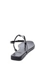 5638266218 Kadın Kroko Deri Parmak Arası Sandalet