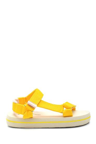 Sarı Kadın Sandalet 5638330468