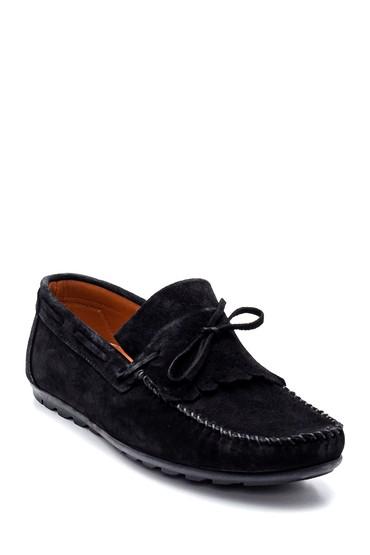 Siyah Erkek Deri Loafer Ayakkabı 5638336101