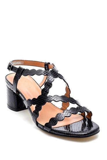 Siyah Kadın Casual Sandalet 5638263307