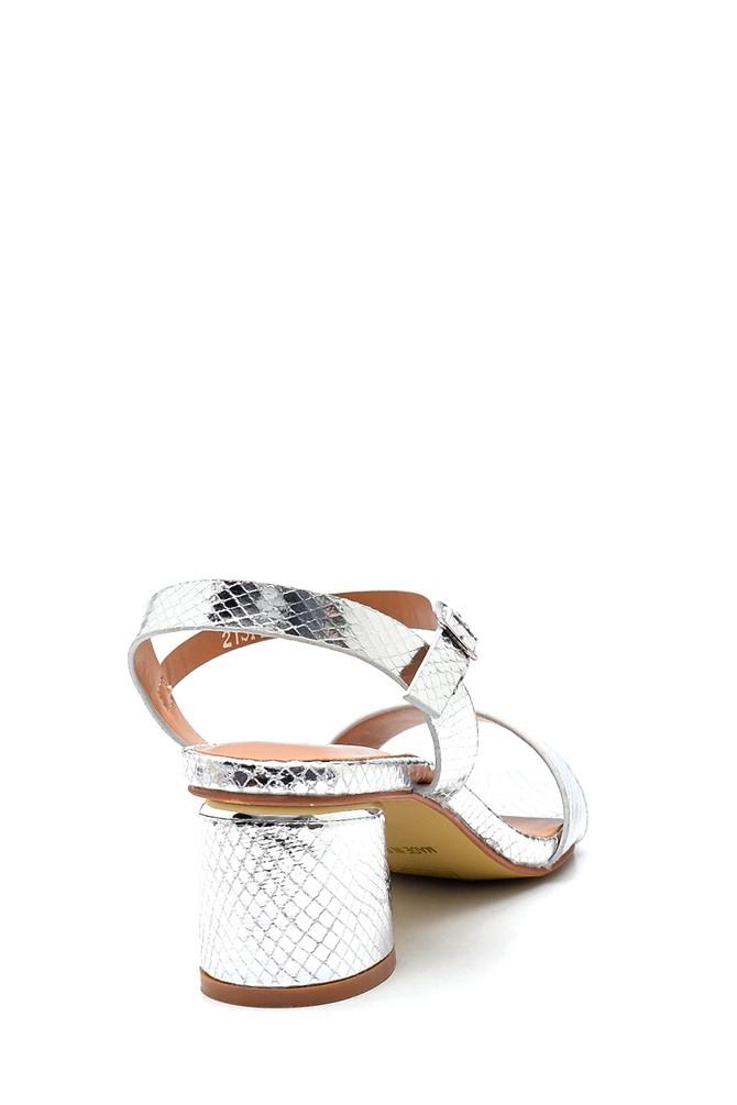 5638263345 Kadın Casual Topuklu Sandalet