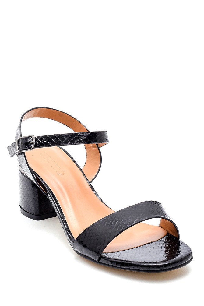 5638263346 Kadın Casual Topuklu Sandalet