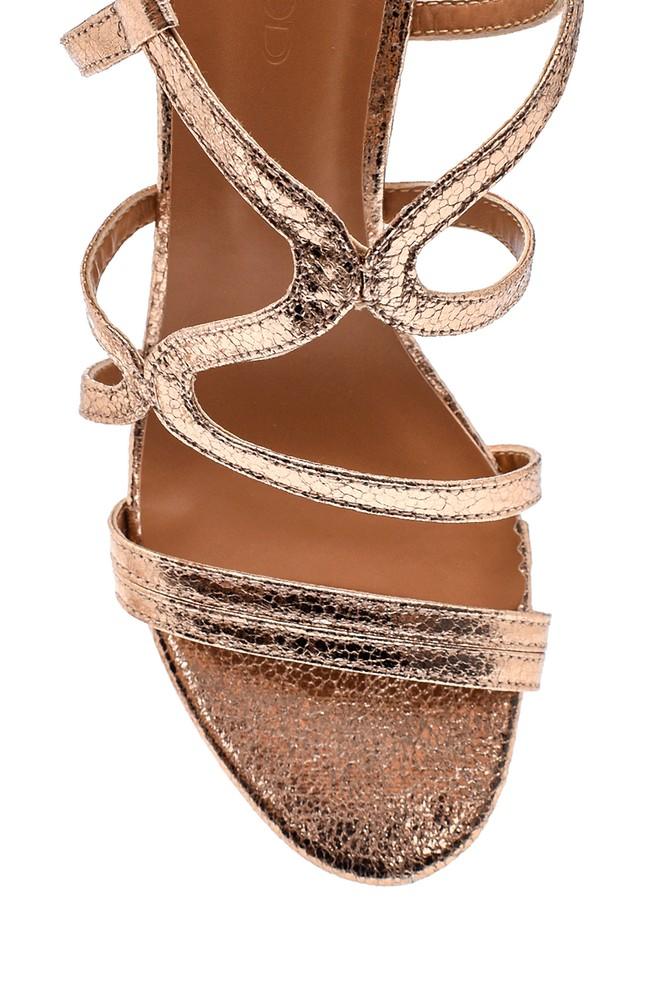 5638263389 Kadın Casual Topuklu Sandalet
