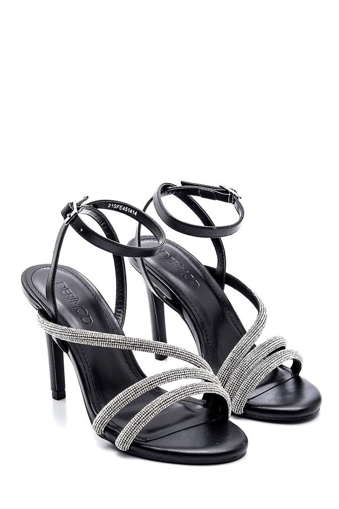 5638268642 Kadın Casual Topuklu Sandalet