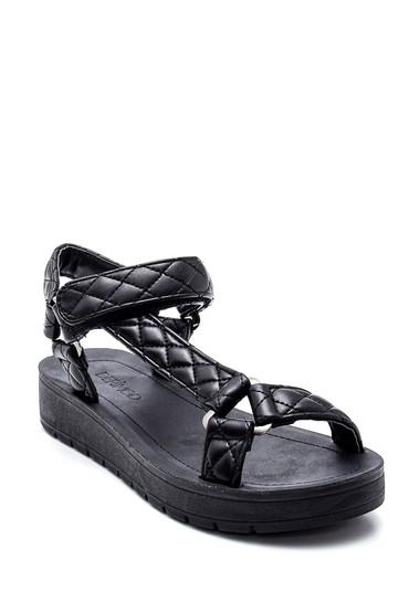 Siyah Kadın Casual Sandalet 5638271194