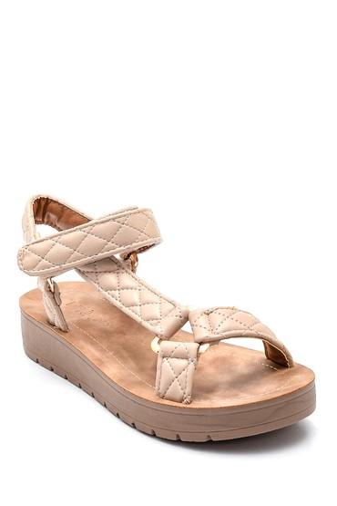 Bej Kadın Casual Sandalet 5638271184