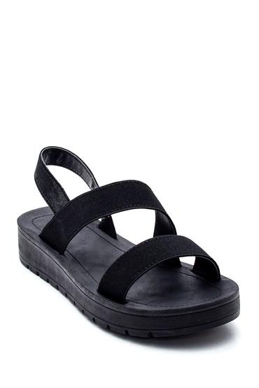 Siyah Kadın Casual Sandalet 5638271216