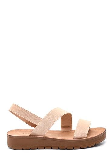 Bej Kadın Casual Sandalet 5638271218