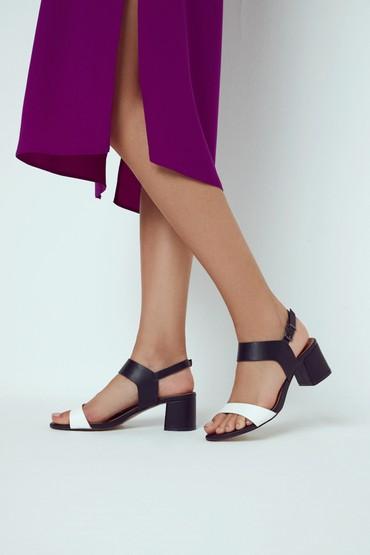 Siyah Kadın Topuklu Sandalet 5638271620