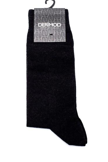 Siyah Erkek Yün İçerikli Çorap 5638159737
