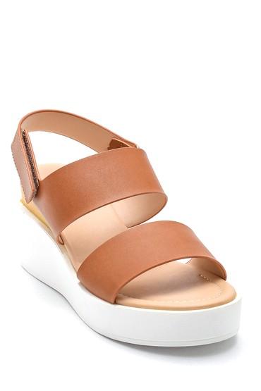 Taba Kadın Casual Sandalet 5638128813
