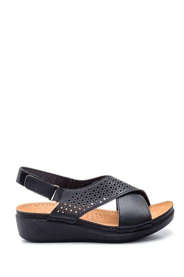 Siyah Kadın Casual Sandalet 5638277575