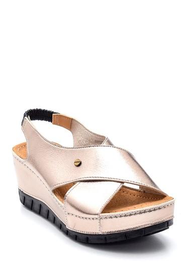 Platin Kadın Casual Sandalet 5638277641