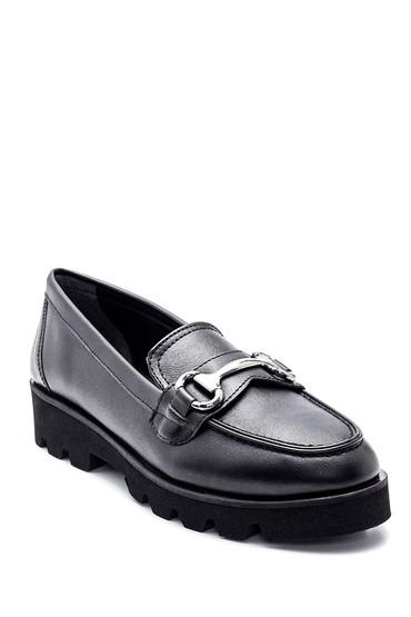 Siyah Kadın Klasik Loafer 5638294720