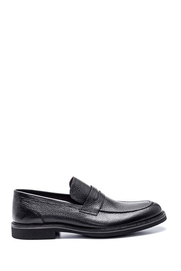 Siyah Erkek Deri Casual Ayakkabı 5638307611