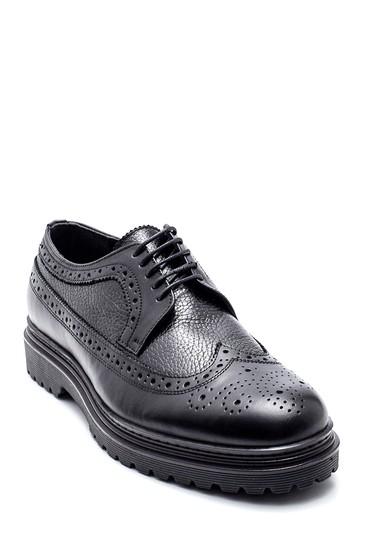 Siyah Erkek Casual Deri Ayakkabı 5638311811