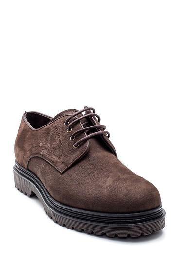 Kahverengi Erkek Deri Ayakkabı 5638311959