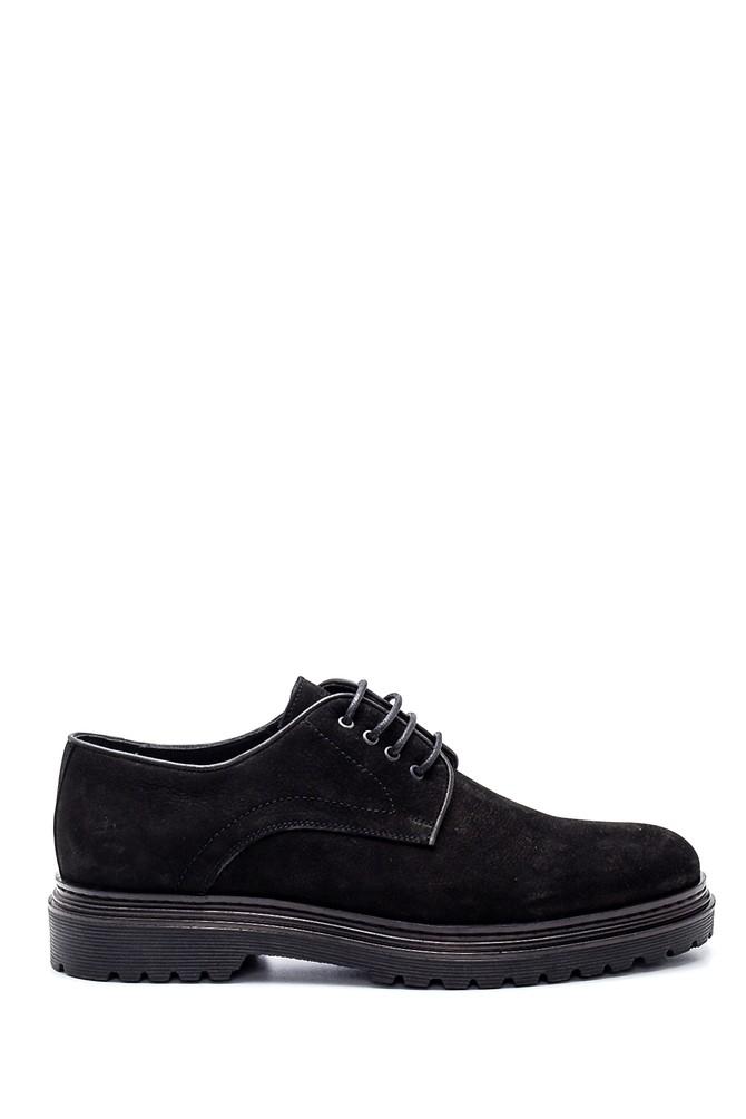 Siyah Erkek Nubuk Deri Ayakkabı 5638311960
