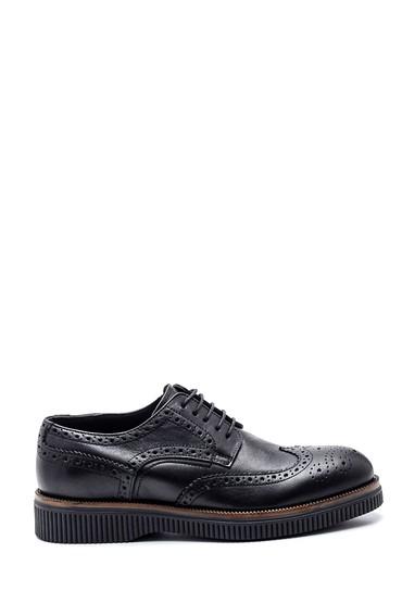 Siyah Erkek Casual Deri Ayakkabı 5638317161