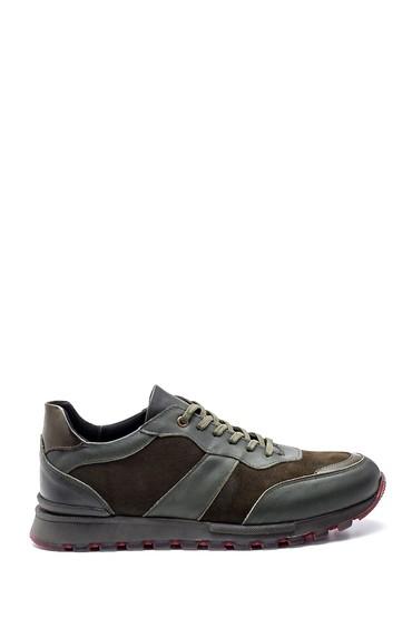 Yeşil Erkek Deri Sneaker 5638318778
