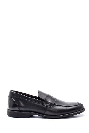 Siyah Erkek Deri Ayakkabı 5638323146
