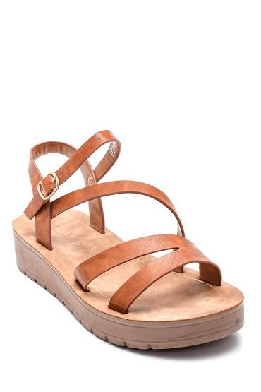 Taba Kadın Casual Sandalet 5638263029