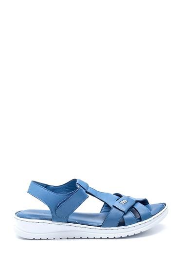Mavi Kadın Deri Sandalet 5638273670