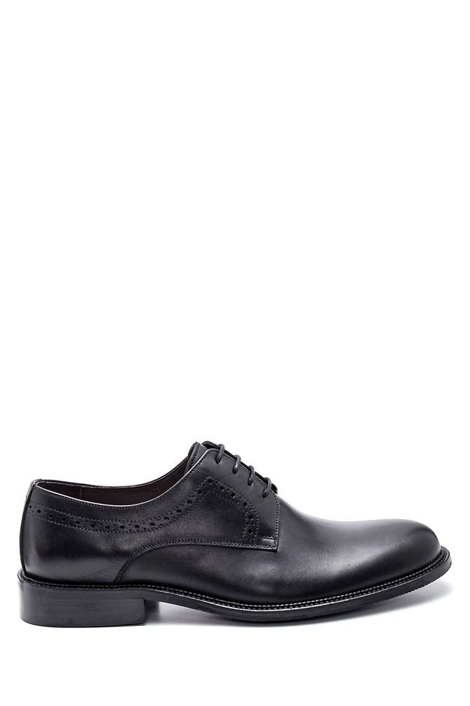 Siyah Erkek Deri Casual Ayakkabı 5638307699