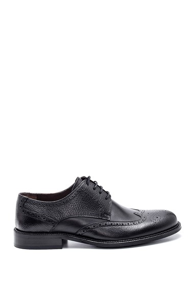 Siyah Erkek Deri Klasik Ayakkabı 5638307731