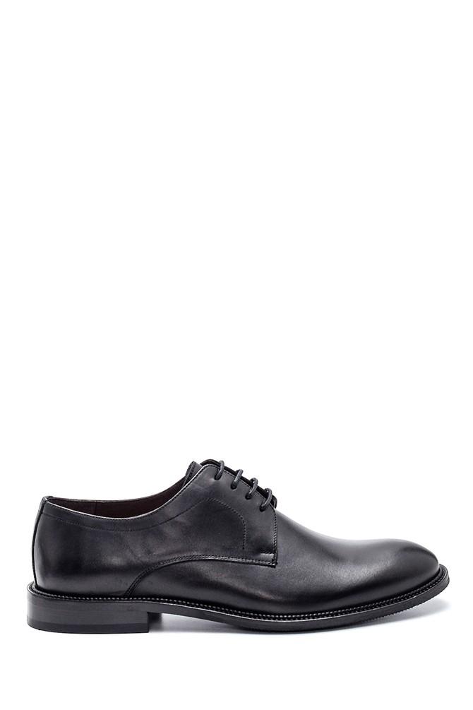 Siyah Erkek Deri Casual Ayakkabı 5638307823