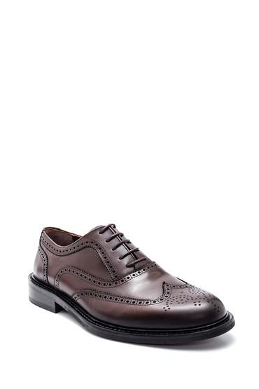 Kahverengi Erkek Deri Casual Ayakkabı 5638307906