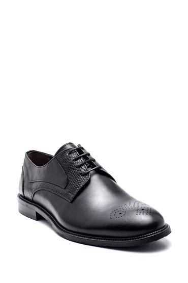 Siyah Erkek Deri Klasik Ayakkabı 5638314259