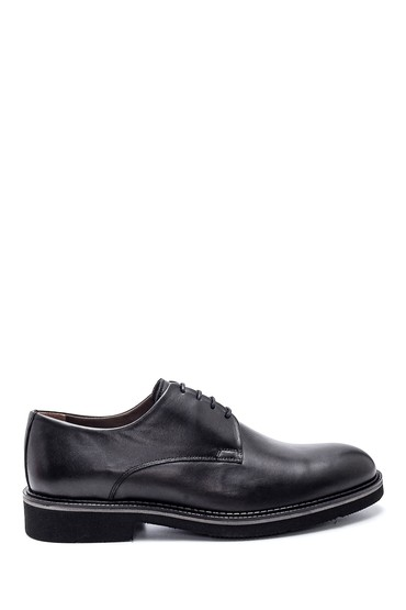 Siyah Erkek Deri Casual Ayakkabı 5638314460