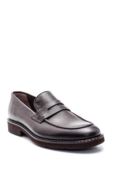 Kahverengi Erkek Deri Casual Ayakkabı 5638314545