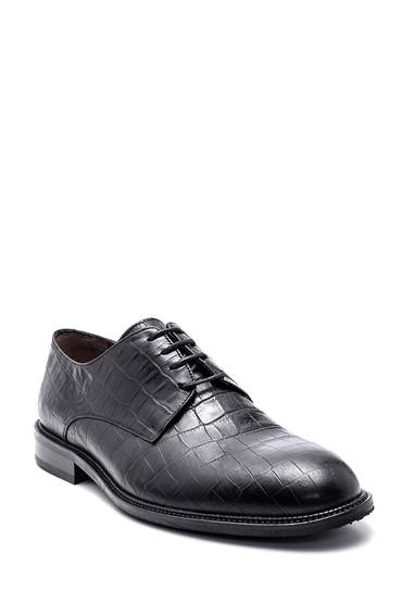 Siyah Erkek Deri Klasik Ayakkabı 5638314676