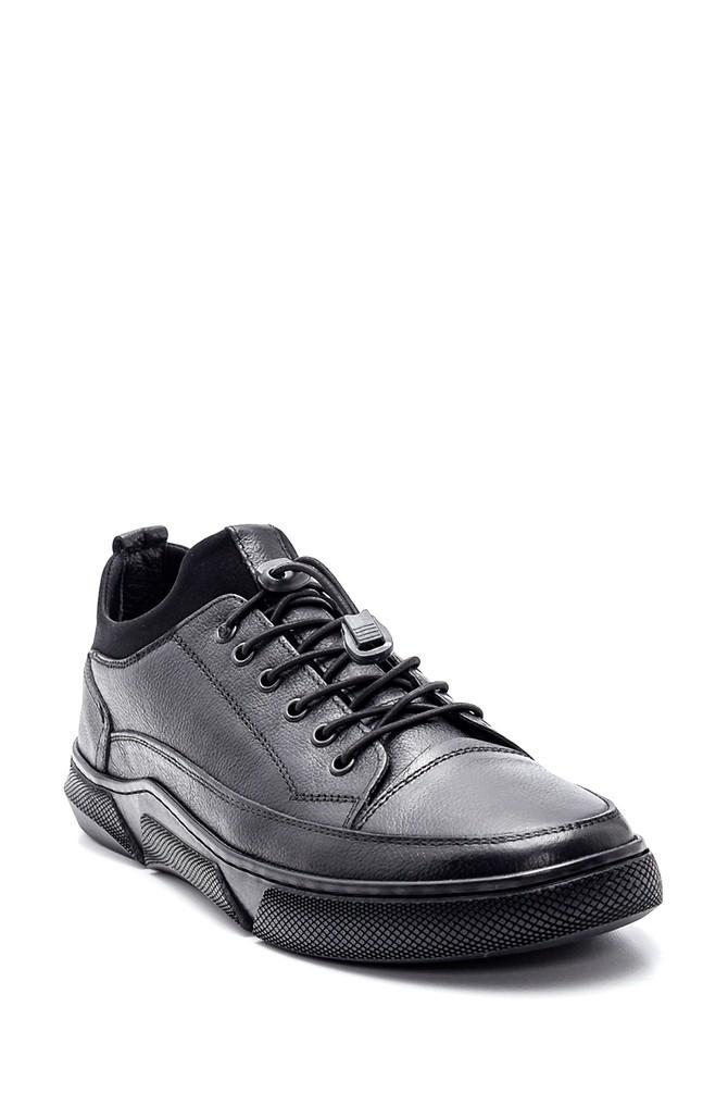 5638336786 Erkek Deri Sneaker