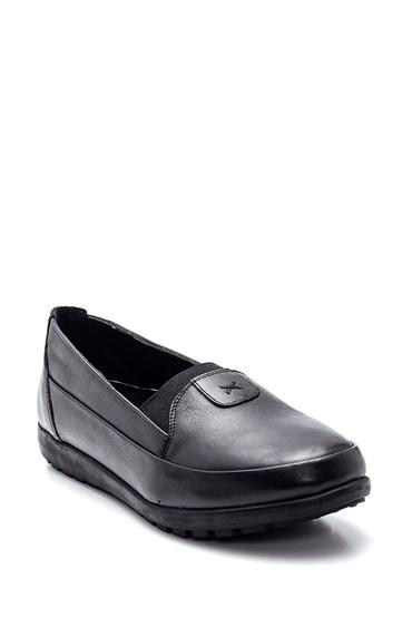 Siyah Kadın Deri Ayakkabı 5638306081
