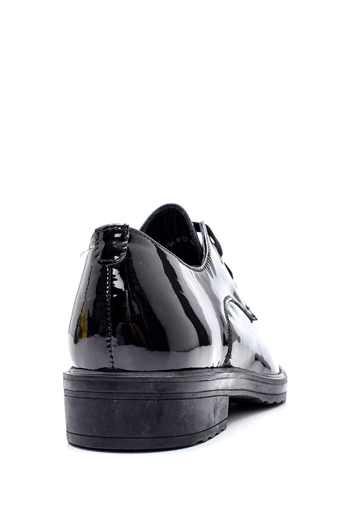 5638306161 Kadın Deri Rugan Ayakkabı