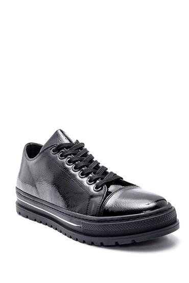 Siyah Kadın Rugan Ayakkabı 5638328185
