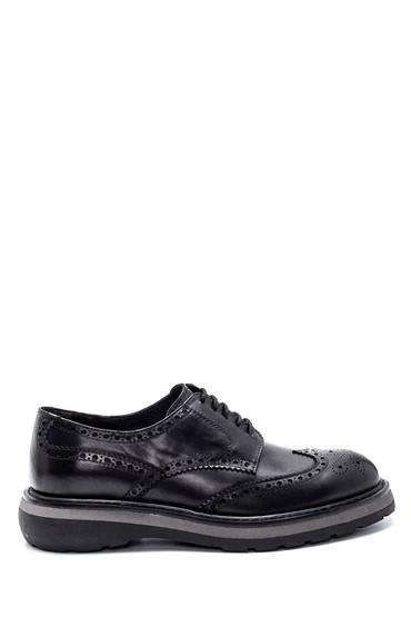 Siyah Erkek Deri Casual Ayakkabı 5638331839