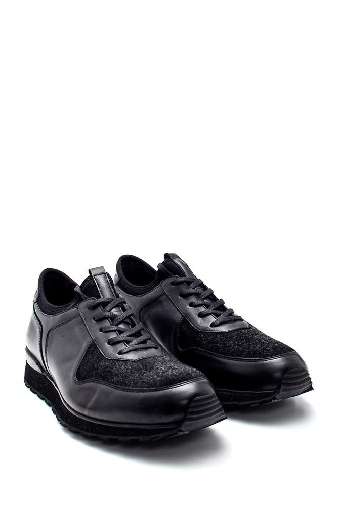 5638331945 Erkek Deri Sneaker