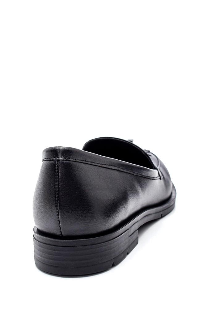 5638346154 Kadın Püskül Detaylı Loafer