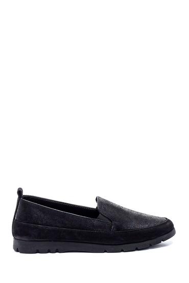 Siyah Kadın Deri Ayakkabı 5638307075