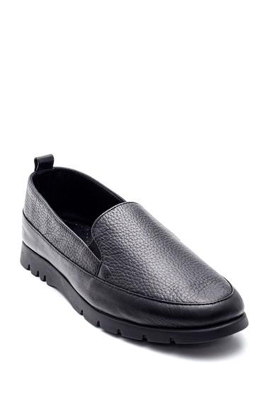 Siyah Kadın Deri Ayakkabı 5638308586