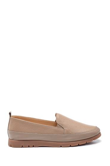 Vizon Kadın Deri Ayakkabı 5638308588