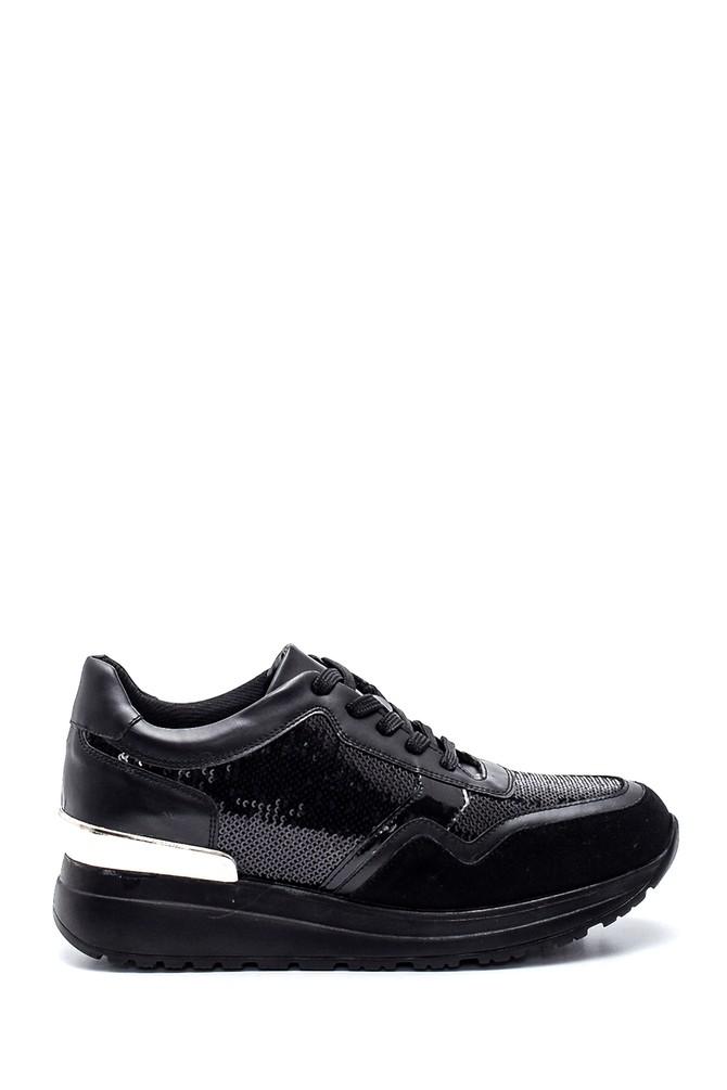 Siyah Kadın Sneaker 5638330498