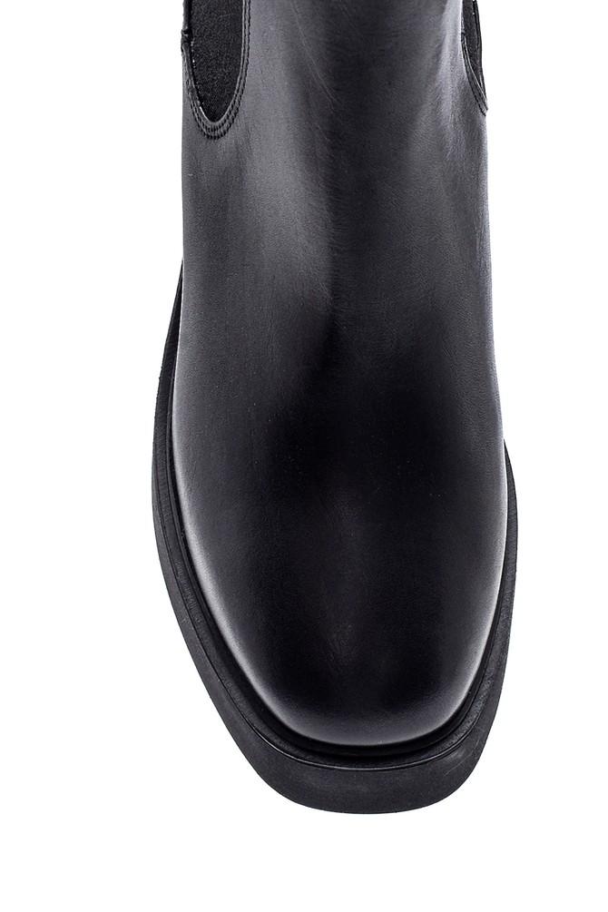 5638316253 Kadın Deri Platform Topuklu Bot