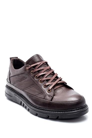 Kahverengi Erkek Deri Ayakkabı 5638309751
