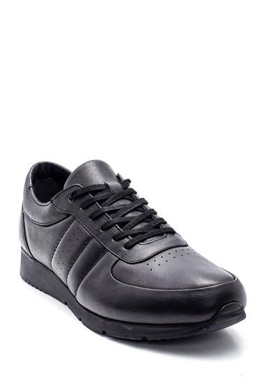 Siyah Erkek Deri Sneaker 5638309778